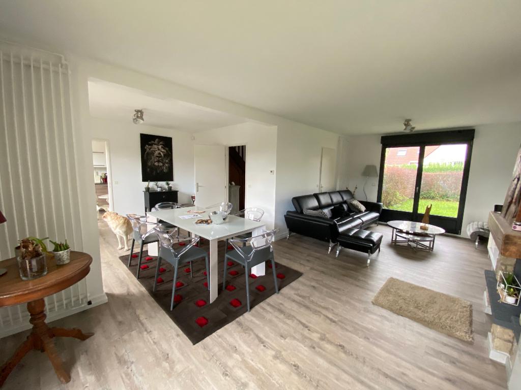 Maison Mouvaux 104 m2 - 4 chambres, jardin et garage