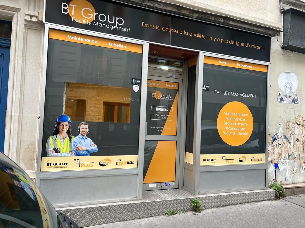 Local commercial Paris-Gambetta 42m2