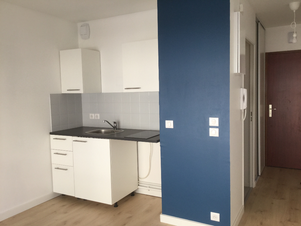Appartement Nantes 1 pièce(s) 18.81 m2