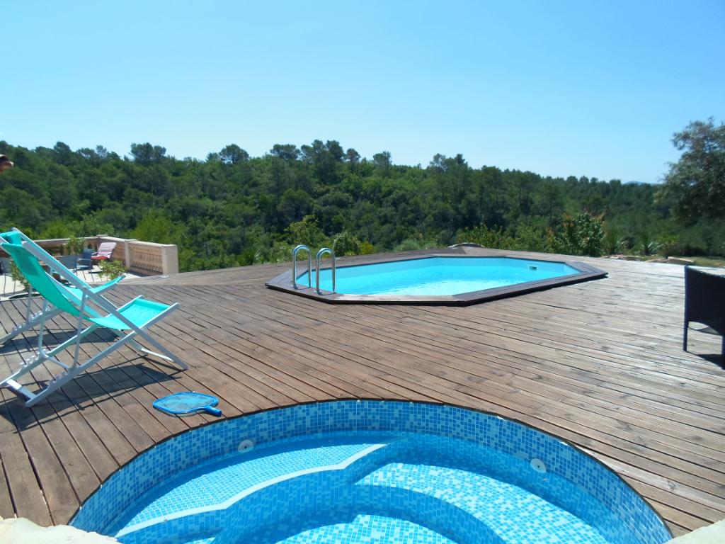 Villa parc naturel 1 Ha piscine et jacuzzi